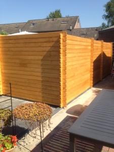 bouw tuinhuisje met overkapping
